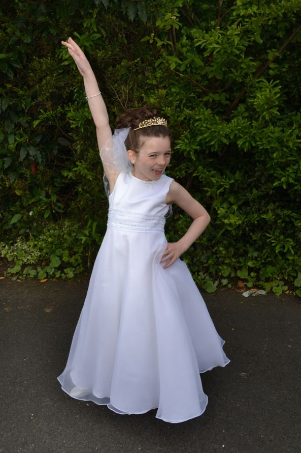 Violet First Holy Communion