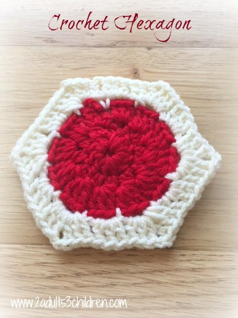 Crochet Hexagon Sky Blanket 2016