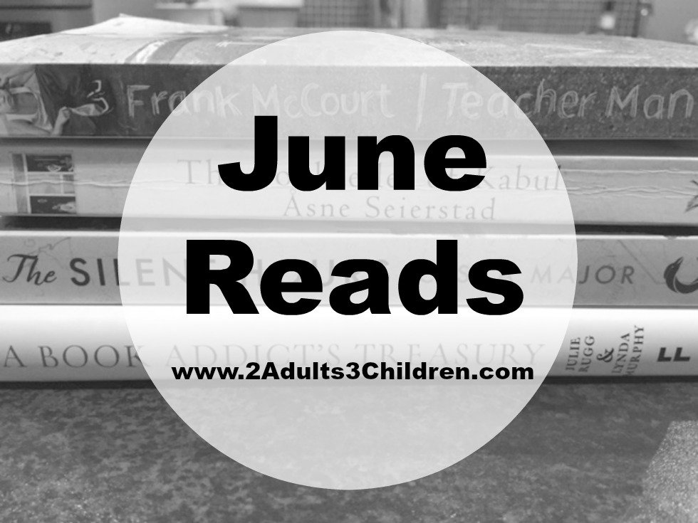 June reads Monthly book reviews adults fiction literature children's books