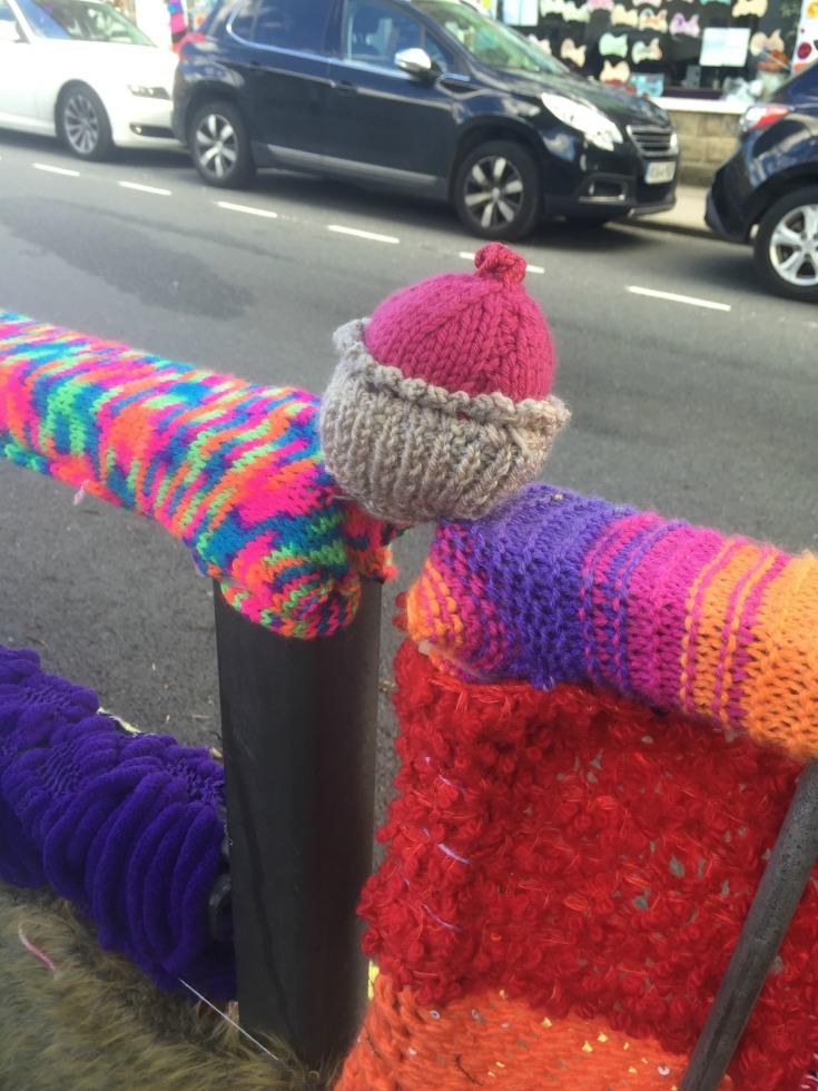 Yarn Bomb Cupcakes