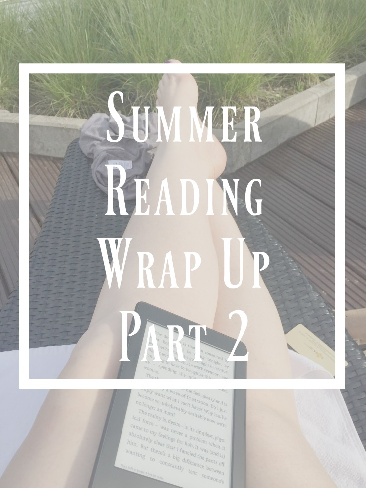 summer reading wrap up part 2