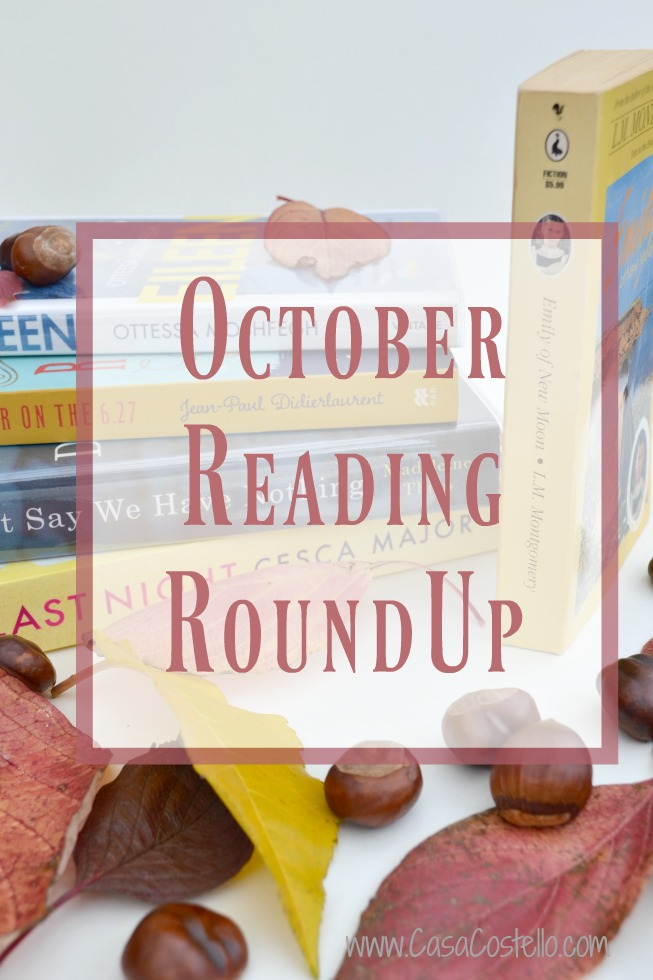 October Reads RoundUp