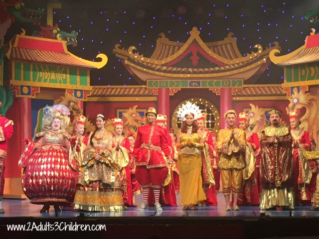 Aladdin, Theatre Royal St Helens