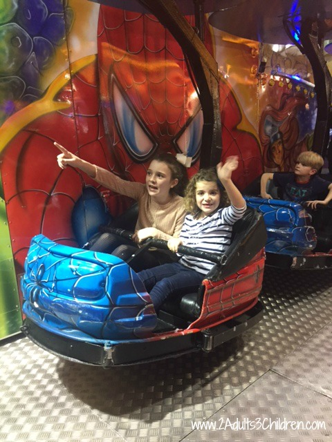 Superheroes ride Winter Wonderland Manchester