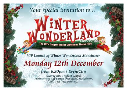 winter wonderland manchester trafford centre