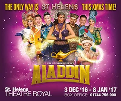Aladdin St helens