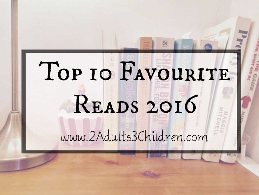 Top 10 Favourite Reads 2016