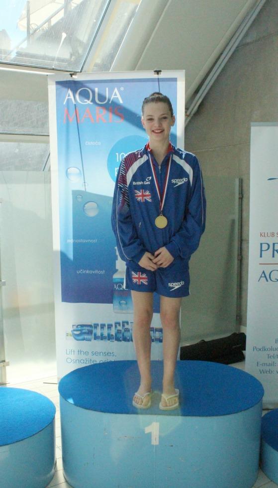 Millie 1st figures Primorje Cup Croatia